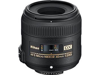 Nikon 40mm F2.8G AF-S DX Micro-Nikkor Lens