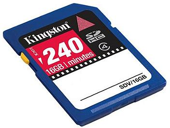 Kingston 16GB Class-4 SDHC Video Memory Card (pack 10 pcs)