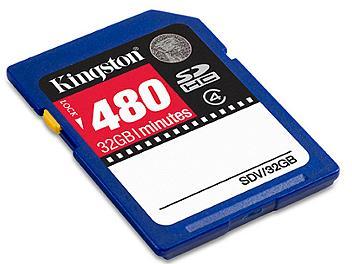 Kingston 32GB Class-4 SDHC Video Memory Card (pack 2 pcs)