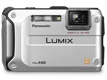 Panasonic Lumix DMC-TS3 Digital Camera - Silver