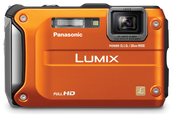 Panasonic Lumix DMC-TS3 Digital Camera - Orange