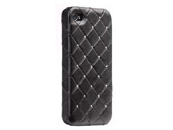 Case Mate CM015477 iPhone 4 Madison Quilted Case - Black
