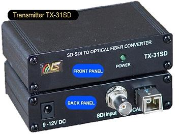 VideoSolutions TX-31SD SD SDI Fiber-Optic Transmitter