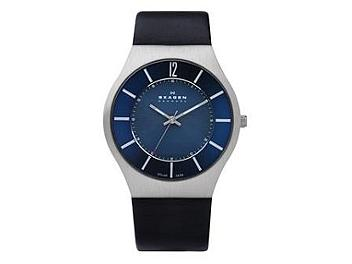 Skagen 833XLSLN Blue Solar Men's Watch