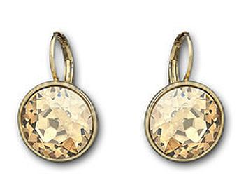 Swarovski 901640 Bella Golden Shadow Pierced Earrings