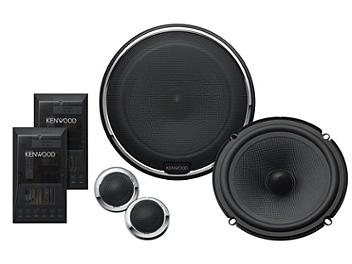 Kenwood KFC-X1730P High Performance Component Speaker System