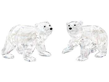Swarovski 1079156 Polar Bear Cubs