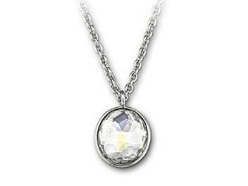 Swarovski 1054617 Marie Small Crystal Moonlight Pendant
