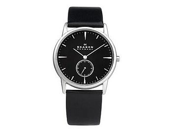 Skagen 958XLSLB Leather Strap Men's Watch