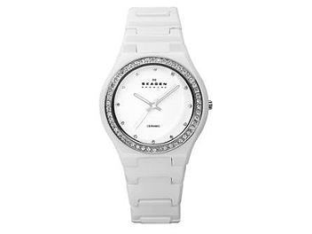 Skagen 813LXWC Ceramic Ladies Watch