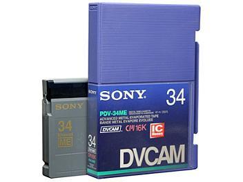 Sony PDV-34ME/2 DVCAM Cassette (pack 10 pcs)