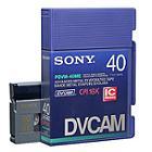 Sony PDVM-40ME/2 DVCAM Cassette (pack 10 pcs)