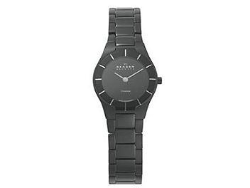 Skagen 585XSTMXB Black Label Ladies Watch