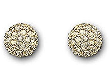 Swarovski 992882 Golden Shadow Pierced Earrings