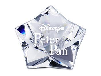 Swarovski 1036622 Title Plaque - Peter Pan