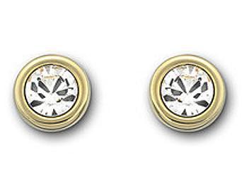Swarovski 1058468 Golden Harley Pierced Earrings