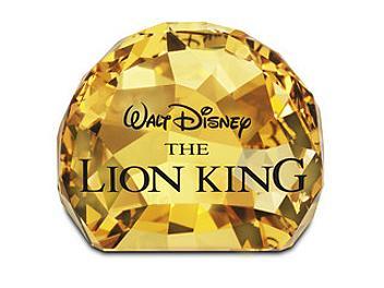 Swarovski 1055087 Title Plaque - The Lion King