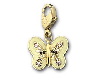 Swarovski 1084434 Butterfly Charm