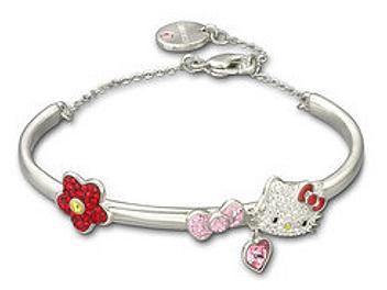 Swarovski 1097198 Hello Kitty Bangle