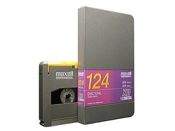 Maxell D5-C124L Digital Cassette (pack 10 pcs)