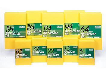 Maxell B-124SXL Betacam SX Cassette (pack 10 pcs)