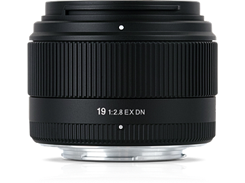 Sigma 19mm F2.8 EX DN Lens - Micro Four Thirds Mount