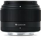 Sigma 19mm F2.8 EX DN Lens - Micro Four Thirds Mount