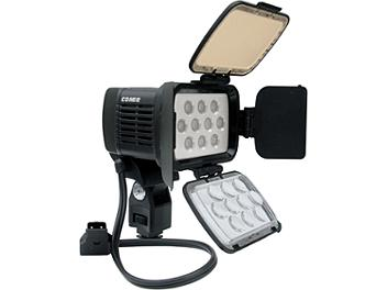 Comer CM-LED1800 LED Camera Light Kit with D-Tap to DC Adapter