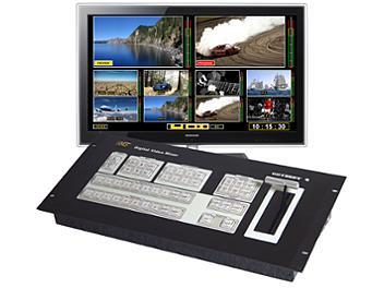 VideoSolutions ODYSSEY 4S SD SDI & CVBS Video Mixer PAL