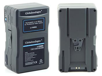 Globalmediapro Li190BS-R V-Mount Li-ion Buddy Battery System 190Wh for Red Camera