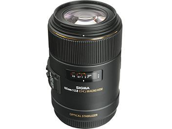 Sigma 105mm F2.8 EX DG OS Macro Lens - Canon Mount