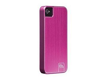 Case Mate CM018054 Aluminum Case for iPhone 4/4S - Pink