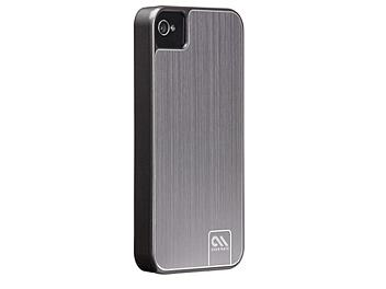 Case Mate CM014540 Barely There Brushed Aluminum Case for iPhone 4 - Grey
