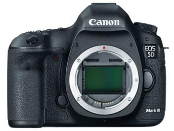 Canon EOS-5D Mark III DSLR Camera Body