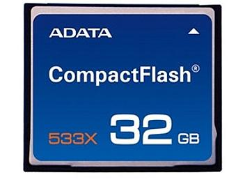 A-DATA 32GB Compact Flash 533x Memory Card (pack 2 pcs)