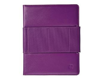 Trexta Rotating Folio iPad 2 Case - Fuchsia