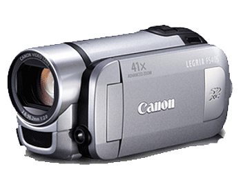 Canon FS405 SD Camcorder PAL - Silver