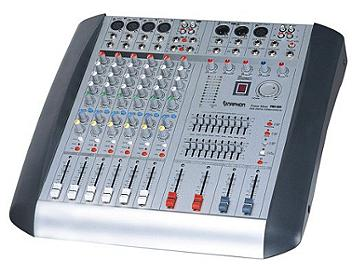 Naphon PMC-825 8-channel Powered Audio Mixer