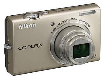 Nikon Coolpix S6200 Digital Camera - Silver