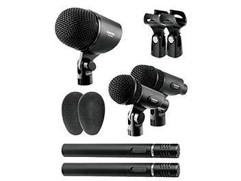 Takstar DMS-5P Dynamic Drum Microphone Set