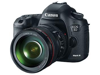 Canon EOS-5D Mark III Digital SLR Camera Kit with Canon EF 24-105mm F4L IS USM Lens