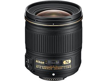 Nikon 28mm F1.8G AF-S Nikkor Lens