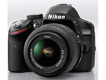 Nikon D3200 Digital SLR Camera Kit with 18-55mm VR Lens