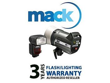 Mack 1172 3 Year Flash/Lighting International Warranty (under USD500)