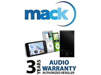 Mack 1287 3 Year Audio International Warranty (under USD15000)