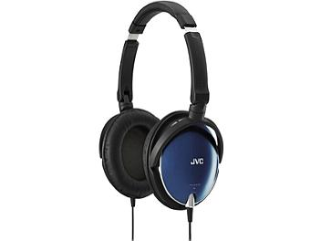 JVC HA-S600 Foldable Around-Ear Stereo Headphones - Blue