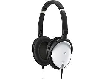 JVC HA-S600 Foldable Around-Ear Stereo Headphones - White