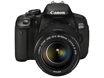 Canon EOS-650D Digital SLR Camera Kit with Canon EF-S 18-135mm IS STM Lens