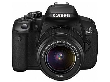 Canon EOS-650D Digital SLR Camera Kit with Canon EF-S 18-55mm IS II Lens
