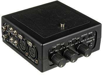 Azden FMX-DSLR 2-Channel Portable Audio Mixer